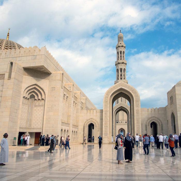 Oman - Sultan Qaboos Mosque in Muscat